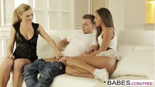 Babes – Step Mom Lessons – Amirah Adara and Angel Snow and Mark – Lessons 8 min